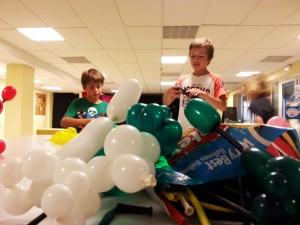 Jour 2 Sculpture sur ballons